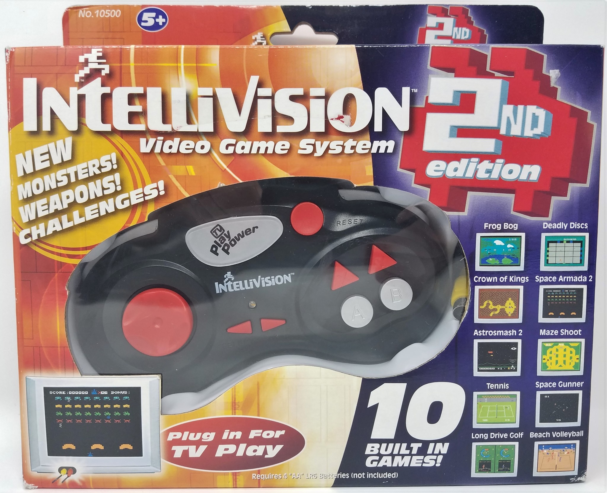 Techno Source Intellivision Game System 2nd Edition