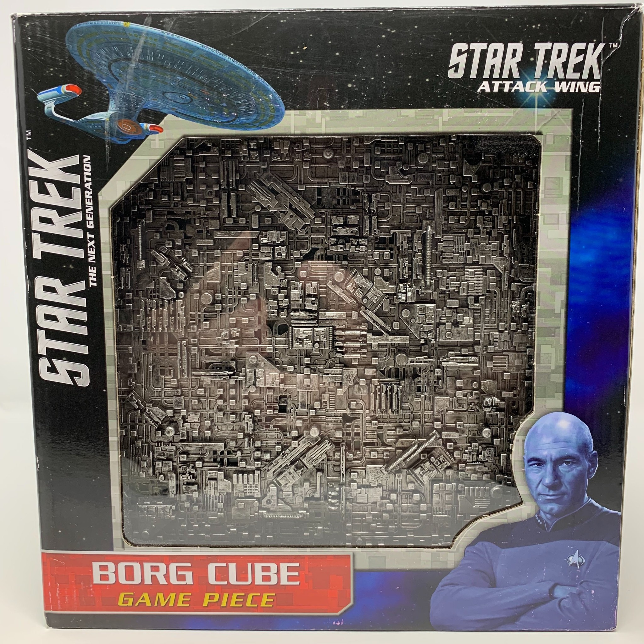 Star Trek: Attack Wing – Borg Cube With Sphere Port