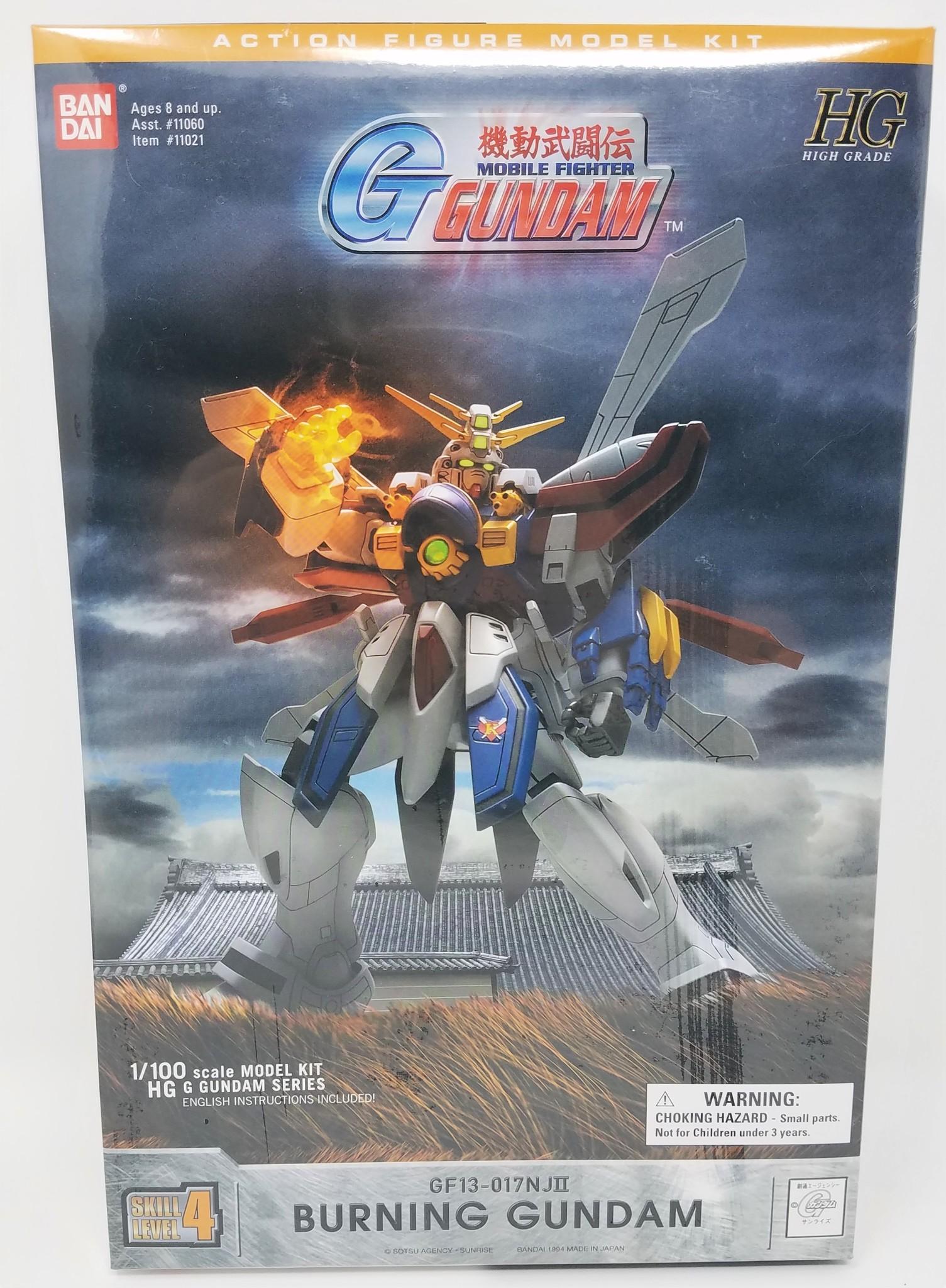 Gundam 1/100 Snap Model Kit: Burning Gundam