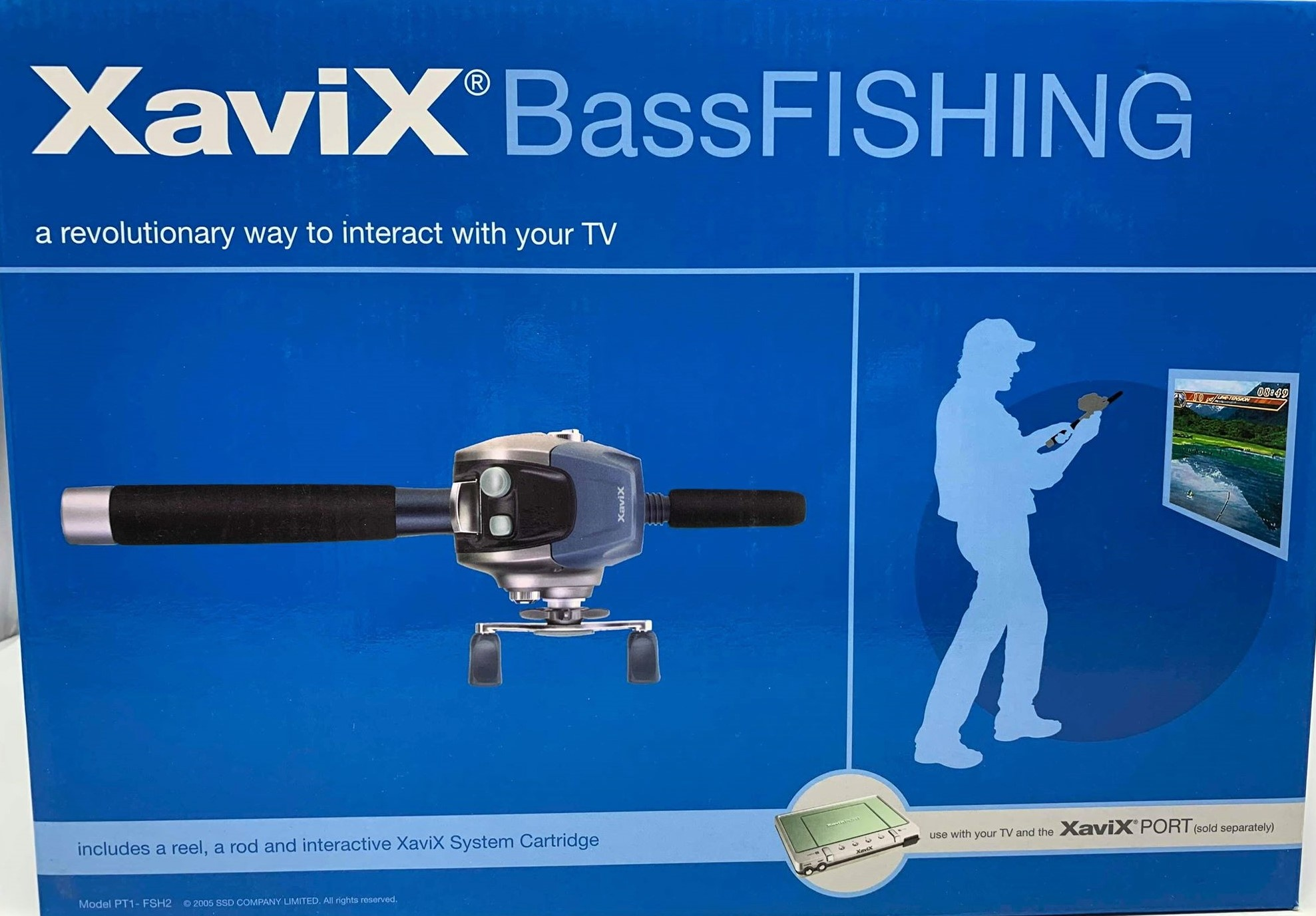 XaviX Bass Fishing Expansion