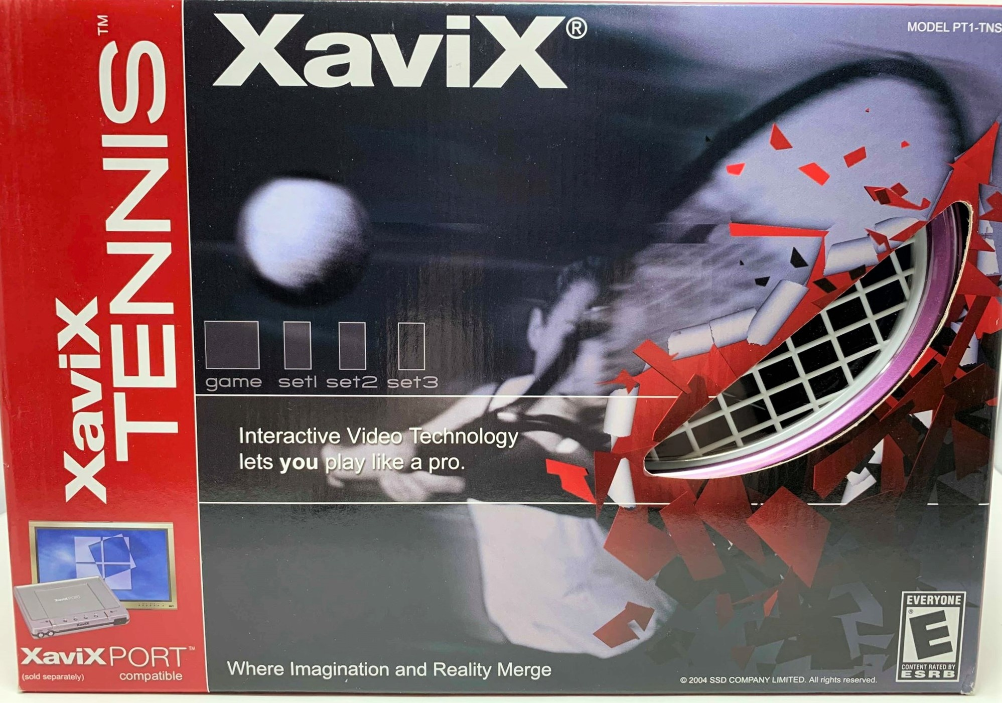 XaviX Tennis Expansion