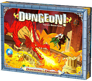 Wizards of the Coast D&D Dungeon Fantasy Board Game