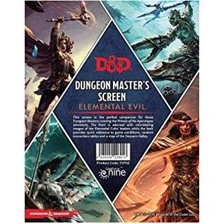 D&D Elemental Evil DM Screen