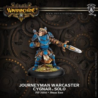 Privateer Press Warmachine Cygnar Journeyman Warcaster