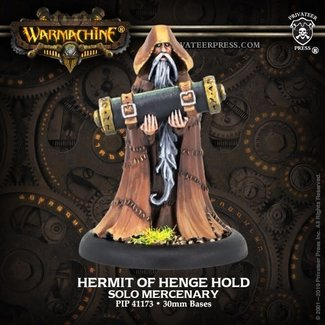 Privateer Press Warmachine Mercenaries Hermit of Henge Hold