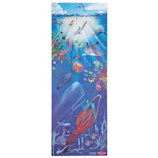 Melissa & Doug Under the Sea Floor Puzzle 100 pc