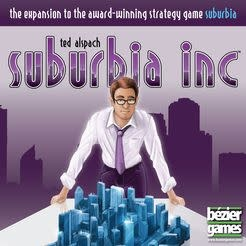Bezier Games Suburbia Inc: The Expansion