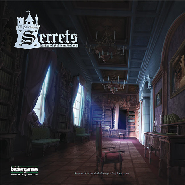 Bezier Games Castles of Mad King Ludwig: Secrets Expansion