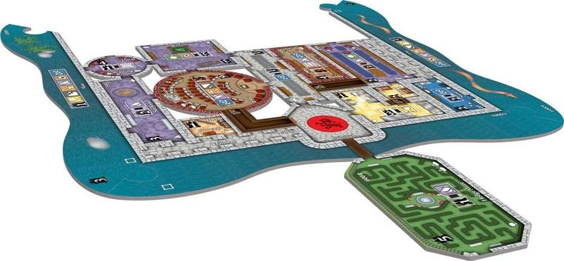 Bezier Games Castles of Mad King Ludwig Secrets Expansion