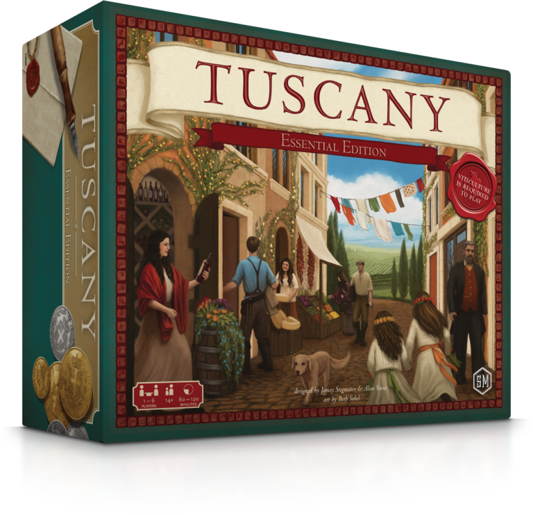 Stonemaier Games Tuscany Essential Edition