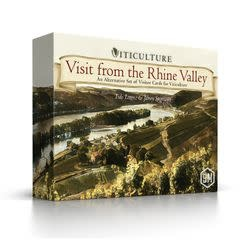 Stonemaier Games Viticulture: Visit from the Rhine Valley