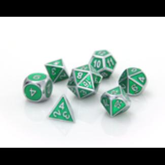 Die Hard Dice Gemstone Collection Silver Emerald - Die Hard Dice