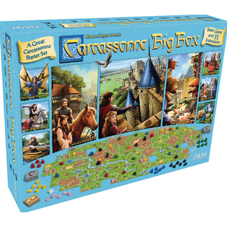 Z-Man Games Carcassonne Big Box 2017