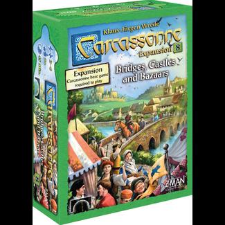 Z-Man Games Carcassonne Expansion 8: Bridges, Castles and Bazaars