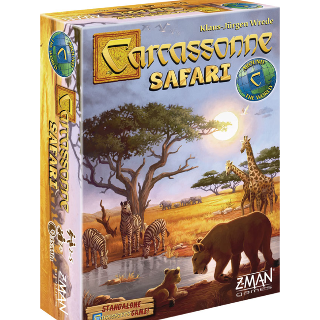 Z-Man Games Carcassonne: Safari