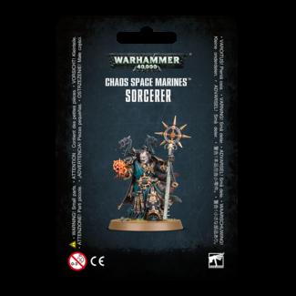Warhammer 40,000 40k Chaos Space Marine Sorcerer