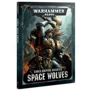 Warhammer 40,000 40k Space Wolves Codex