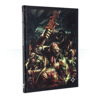 Warhammer 40,000 40k Chaos Daemons Codex Collector's Edition