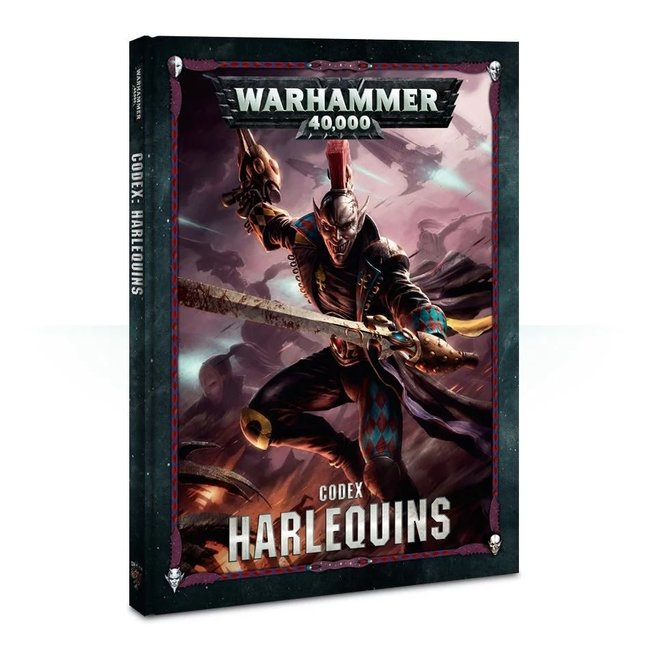 40k Codex: Harlequins