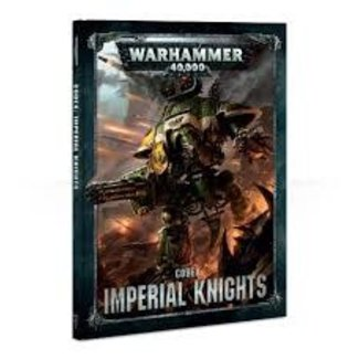 Warhammer 40,000 40k Imperial Knights Codex