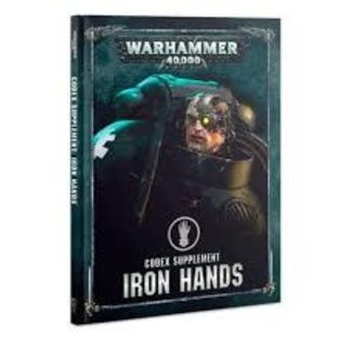 Warhammer 40,000 40k Iron Hands Codex