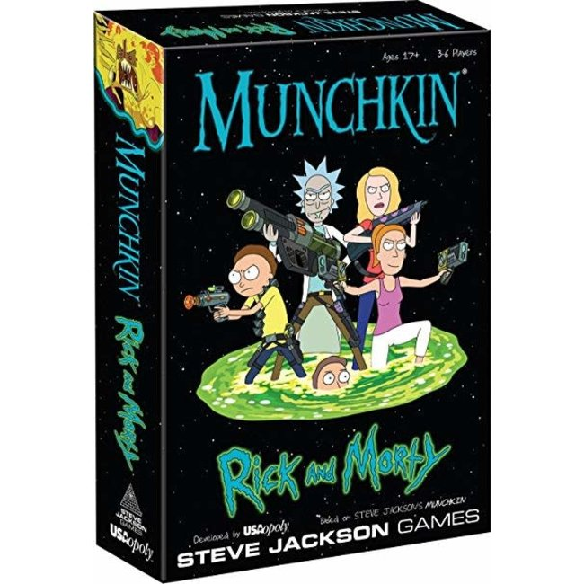 USAopoly Munchkin Rick and Morty