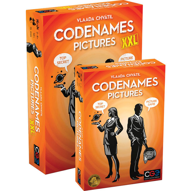 Czech Games Edition Codenames Pictures XXL