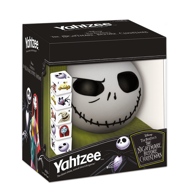 USAopoly Yahtzee The Nightmare Before Christmas
