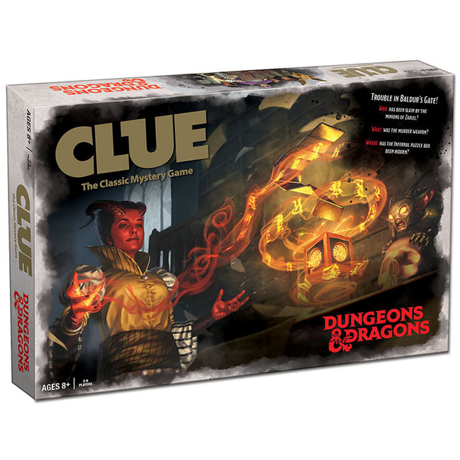 USAopoly Clue: Dungeons & Dragons