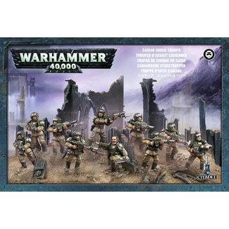 Warhammer 40,000 40k Cadian Shock Troops