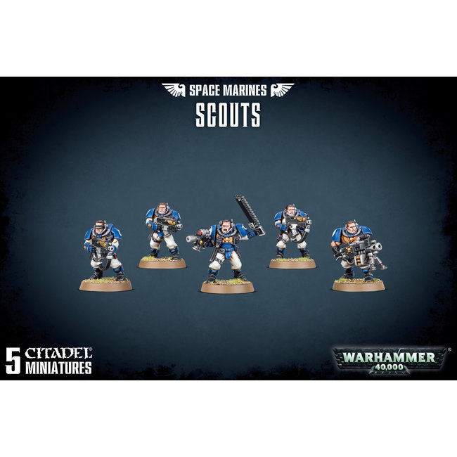 40k Space Marines Scouts