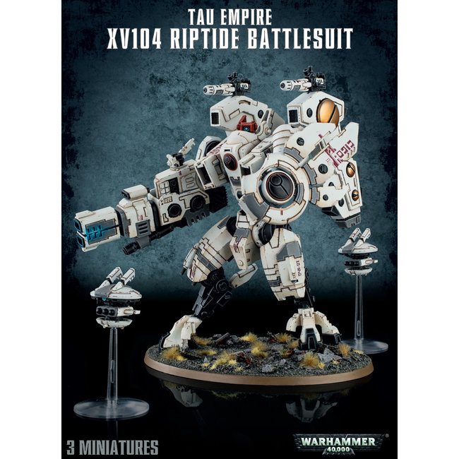 40k XV104 Riptide Battlesuit