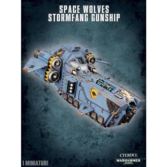 40k Space Wolves Stormfang Gunship