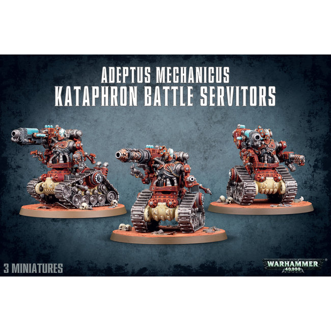 40k Kataphron Battle Servitors