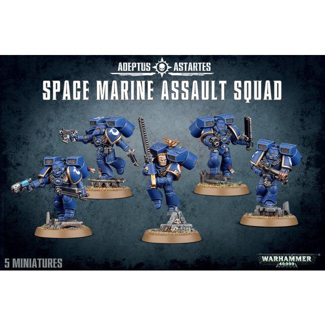 Space Marines:  Assault Squad