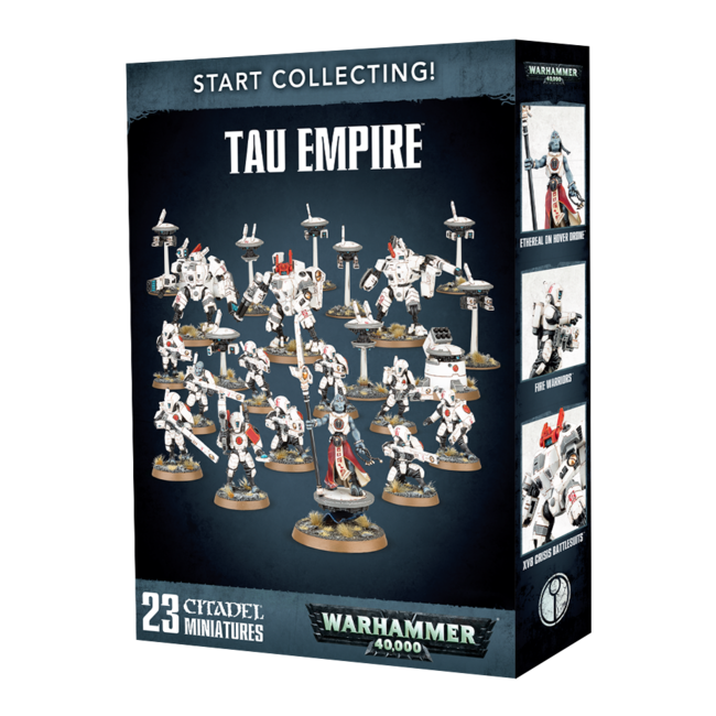 40k Start Collecting! Tau Empire