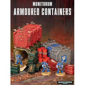 Warhammer 40,000 40k Armoured Containers