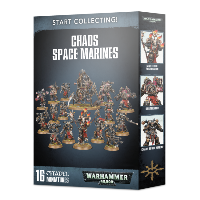40k Start Collecting! Chaos Space Marines