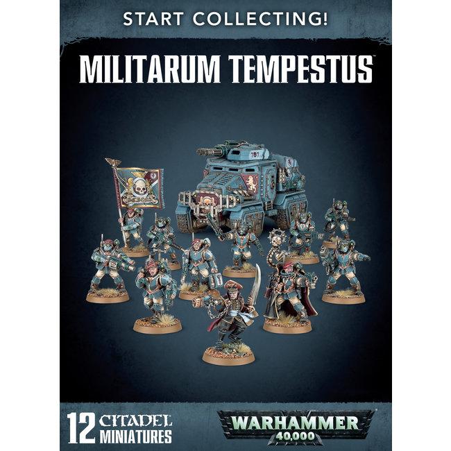 40k Start Collecting Militarum Tempestus