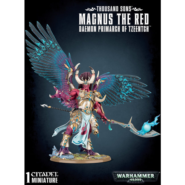 40k Magnus The Red