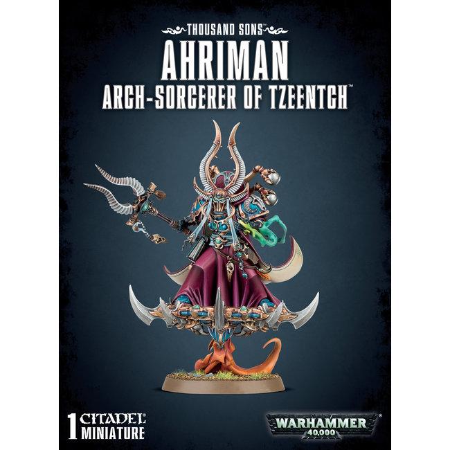 40k Ahriman Arch-Sorcerer Of Tzeentch