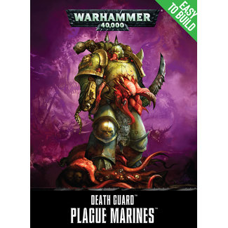 Warhammer 40,000 40k Easy to Build Plague Marines
