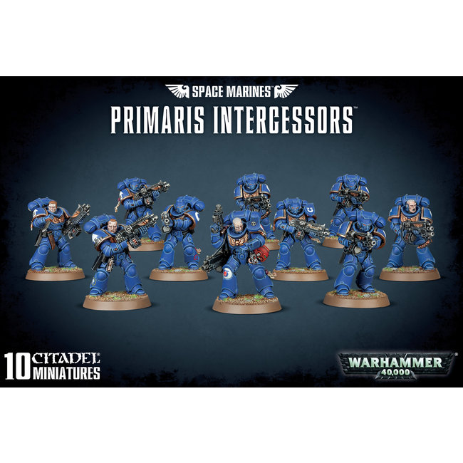 40k Primaris Intercessors