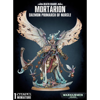 Warhammer 40,000 40k Mortarion Daemon Primarch Of Nurgle