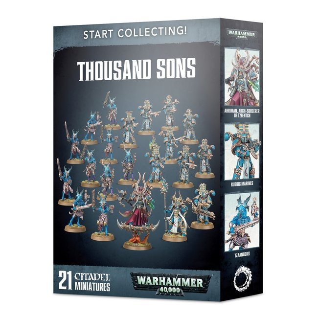 40k Start Collecting! Thousand Sons