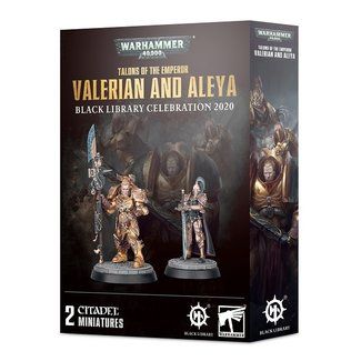 Warhammer 40,000 40k Valerian and Aleya