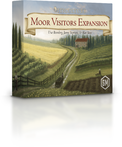 Stonemaier Games Viticulture: Moor Visitors