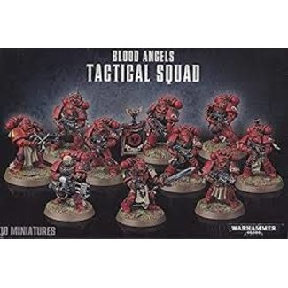 Warhammer 40,000 40k Blood Angels Tactical Squad