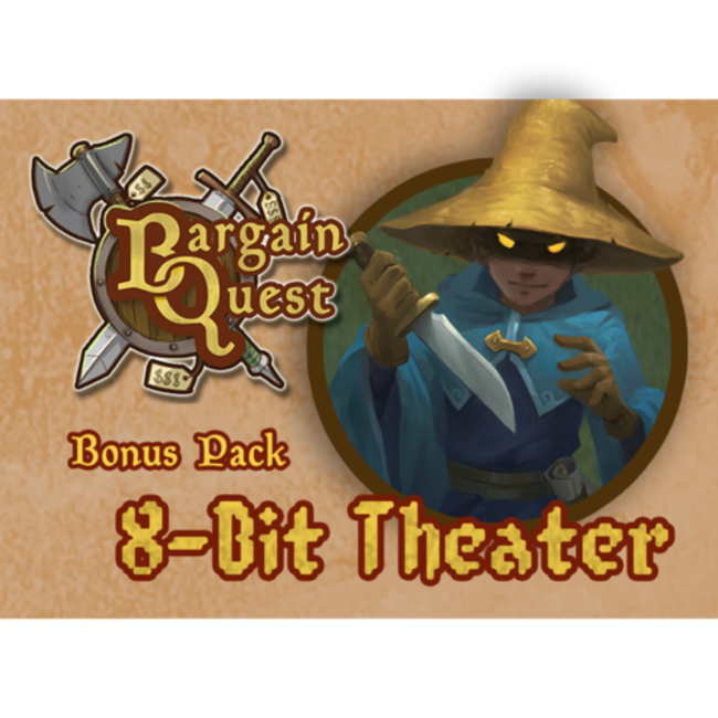 Renegade Game Studios Bargain Quest Bonus Pack 8-bit Theater