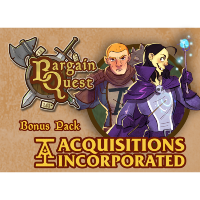 Renegade Game Studios Bargain Quest Bonus Pack Acquistions Inc